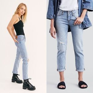 Levi's 501T Tapered